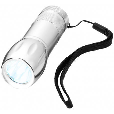 Propus single LED flashlight with wrist strap