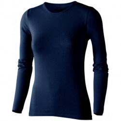 Damski T-shirt z długim rękawem, CURVE