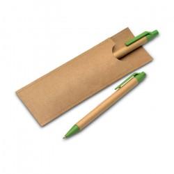 Zestaw piśmienniczy z papieru, GREENSET