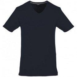 Męski T-shirt z dekoltem w serek, BOSEY