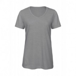 Damski T-shirt, V-NECK V TRIBLEND