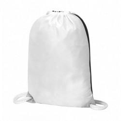 Kontrastowy plecak na sznurkach