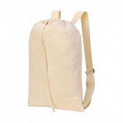 Plecak z zapięciem na bawełniany sznurek