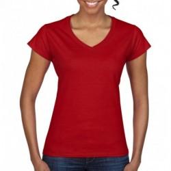 Damska koszulka V-neck, SOFTSTYLE®
