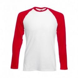 Męska koszulka z długim rękawem, BASEBALL