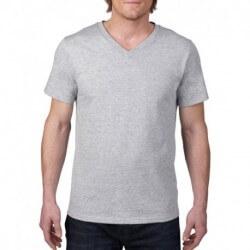 Męska koszulka v-neck, FASHION
