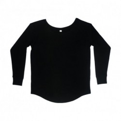 Women`s Loose Fit LS T