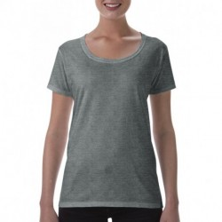 Softstyle® Ladies` Deep Scoop T-Shirt