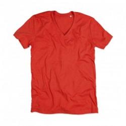Męska koszulka v-neck, LUKE
