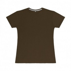 Damski T-shirt, PERFECT PRINT TAGLESS TEE