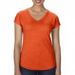 Damska koszulka, TRI-BLEND V-NECK TEE