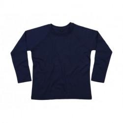 Dziecięcy T-shirt raglanowy z długim rękawem