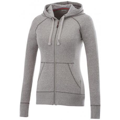 Groundie full zip ladies hoodie