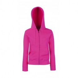 Premium Hooded Sweat Jacket Lady-Fit