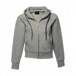 Ladies Hooded Zip Sweat