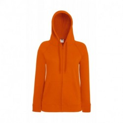 Lightweight Hooded Sweat Jacket Lady-Fit