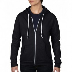 Women`s Fashion Full-Zip Hooded Sweat