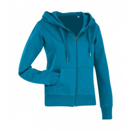 Damska rozpinana bluza z kapturem, ACTIVE SWEATJACKET