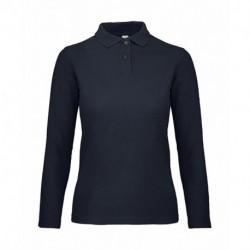 Damska koszulka polo z długim rękawem, LSL