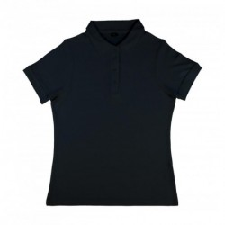 Grace Women`s Viscose-Cotton Pique-Polo