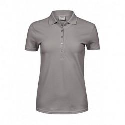 Damska koszulka polo, LUXURY STRETCH
