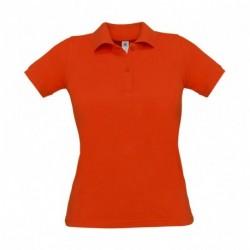 Damska koszulka polo, SAFRAN PURE