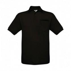 Męska koszulka polo z kieszonką, SAFRAN POCKET