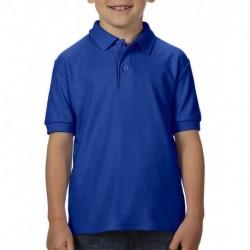 Młodzieżowa koszulka polo, DRYBLEND® DOUBLE PIQUE