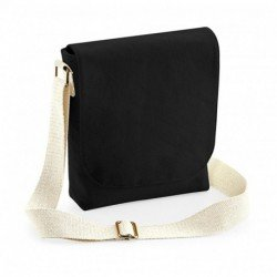 Bawełniana torba mini messenger, FAIRTRADE