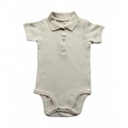 Baby Organic Polo Bodysuit