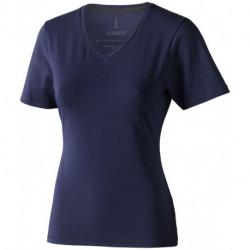 Damski T-shirt ekologiczny Kawartha z krótkim rękawem