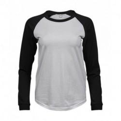Damska koszulka z długim rękawem, BASEBALL TEE