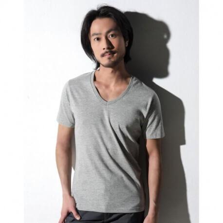 Męski T-shirt v-neck, ANTHONY