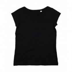 Damski T-shirt, ORGANIC U-NECK T