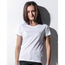 Damski T-shirt z okrągłym dekoltem, SOPHIE