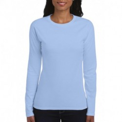 Ladies`Softstyle® T-Shirt LS