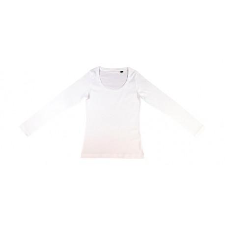 Damska koszulka z długim rękawem, ORGANIC SHEILA