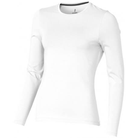 Damski T-shirt ekologiczny z długim rękawem, PONOKA