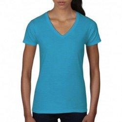 Damska koszulka v-neck, FASHION