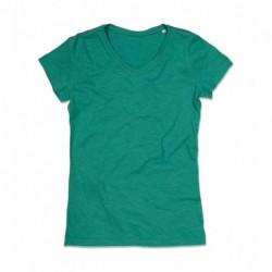 Damski koszulka v-neck, SHARON
