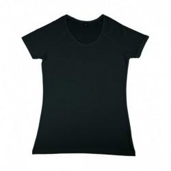 Damska koszulka z dodatkiem wiskozy, EMILY