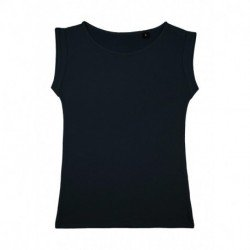 Bessy Rolled Up Sleeve Tank Top