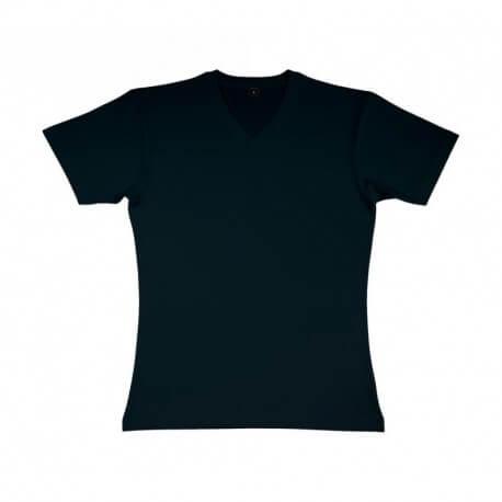 Męski T-shirt v-neck, ORGANIC JAMES