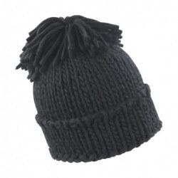 Spider Pom Pom Hat