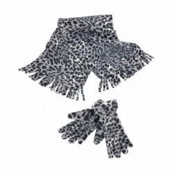 Zestaw szalik i rękawiczki, SNOW LEOPARD