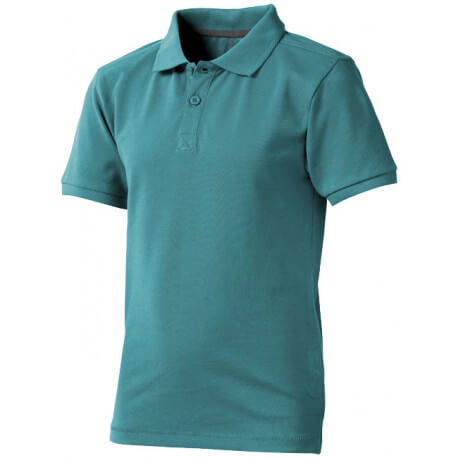 Calgary short sleeve kids polo