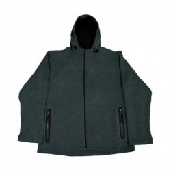 Damska kurtka softshell, FLEECE KNITTED BONDED