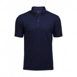 Męska koszulka polo, FASHION LUXURY STRETCH