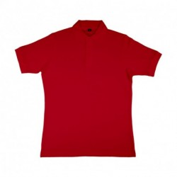 Charlton Men`s Viscose-Cotton Pique-Polo