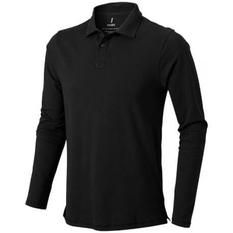 Męska koszulka polo z długim rękawem, OAKVILLE